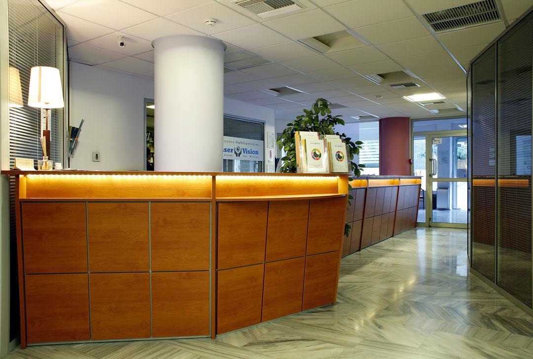 Reception - Αίθουσα υποδοχής των ασθενών